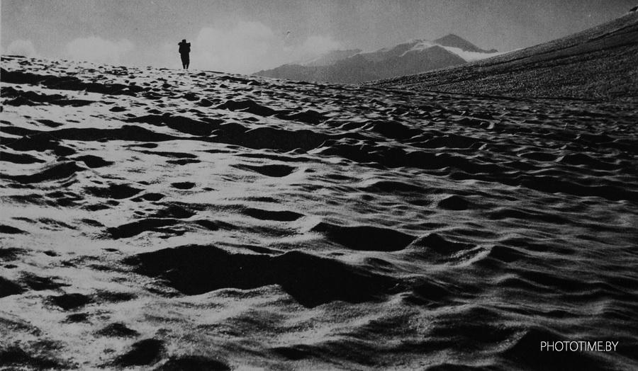 Фотограф в горах