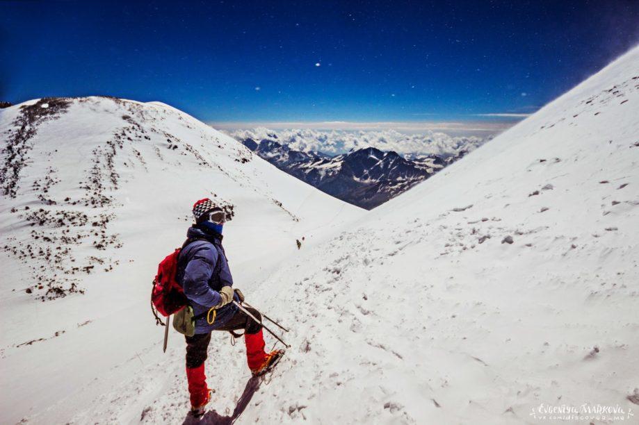 Climbing the peaks of Maashey and Karagem
