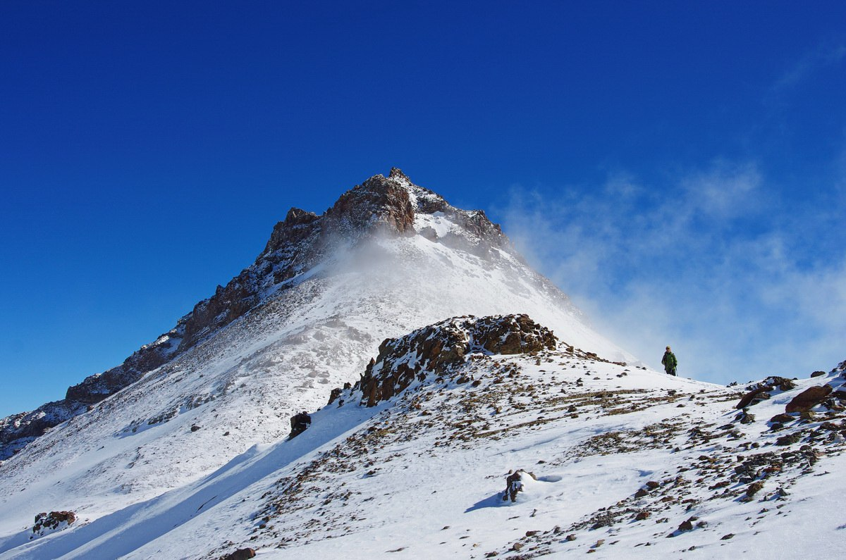Armenia. Aragats. All towers of the volcano